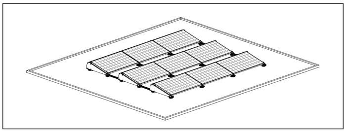 Recherche fixation panneau solaire pour toit terrasse