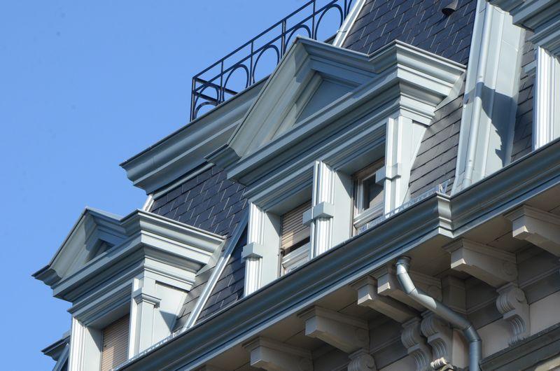 Rénovation d'une toiture en zinc d'un monument classé