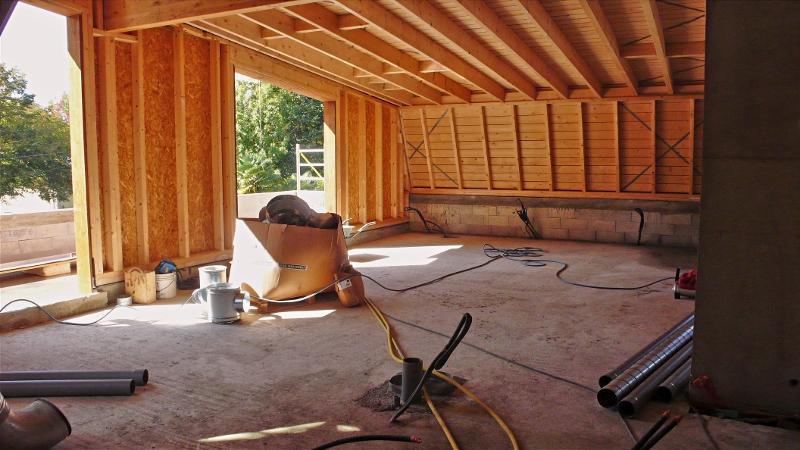isolation et toiture zinc