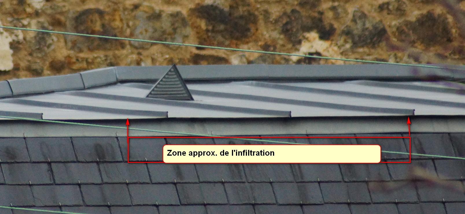 Suspicion de défaut sur terrasson