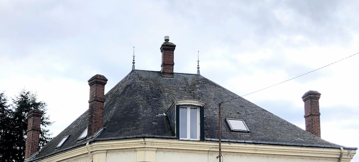Avis sur une toiture en ardoise