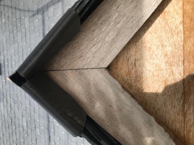 Infiltration sur lucarne en ardoise
