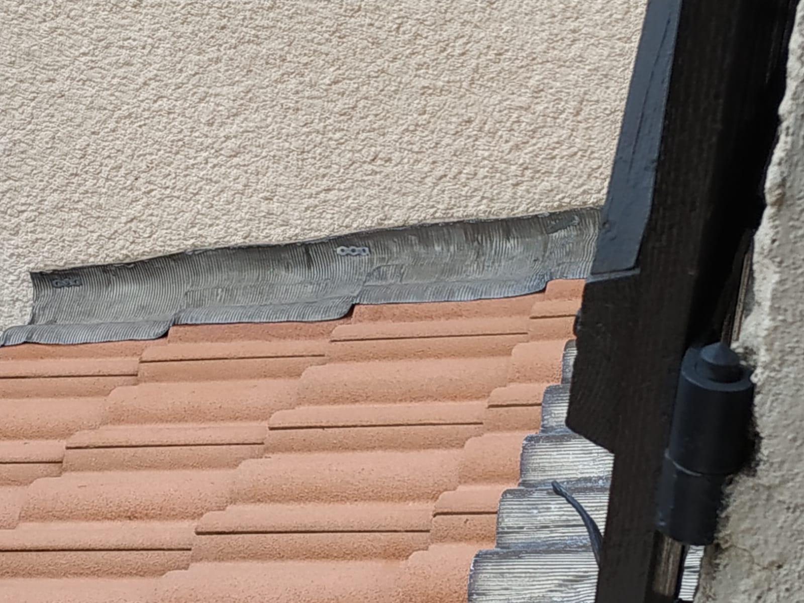 Avis sur pose de solins pour avancée de toit
