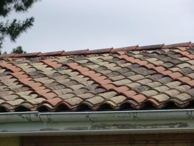 Durée de vie d'une toiture ? Tuiles canal qui glissent (2019)