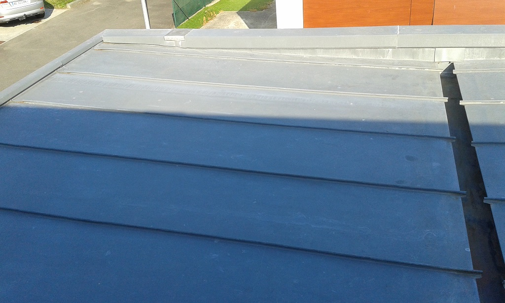 fuite toit en zinc