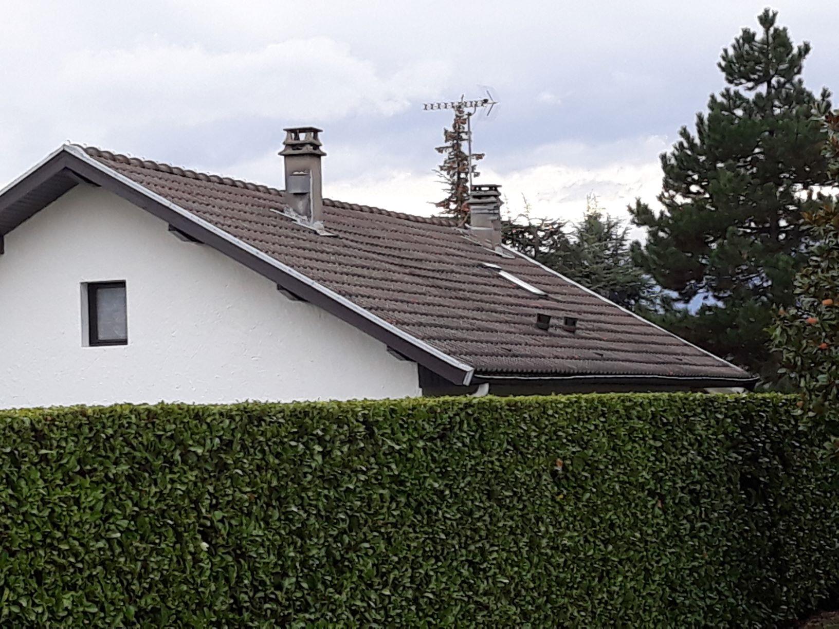 Avis sur l'état du toit d'une maison en cours d'achat