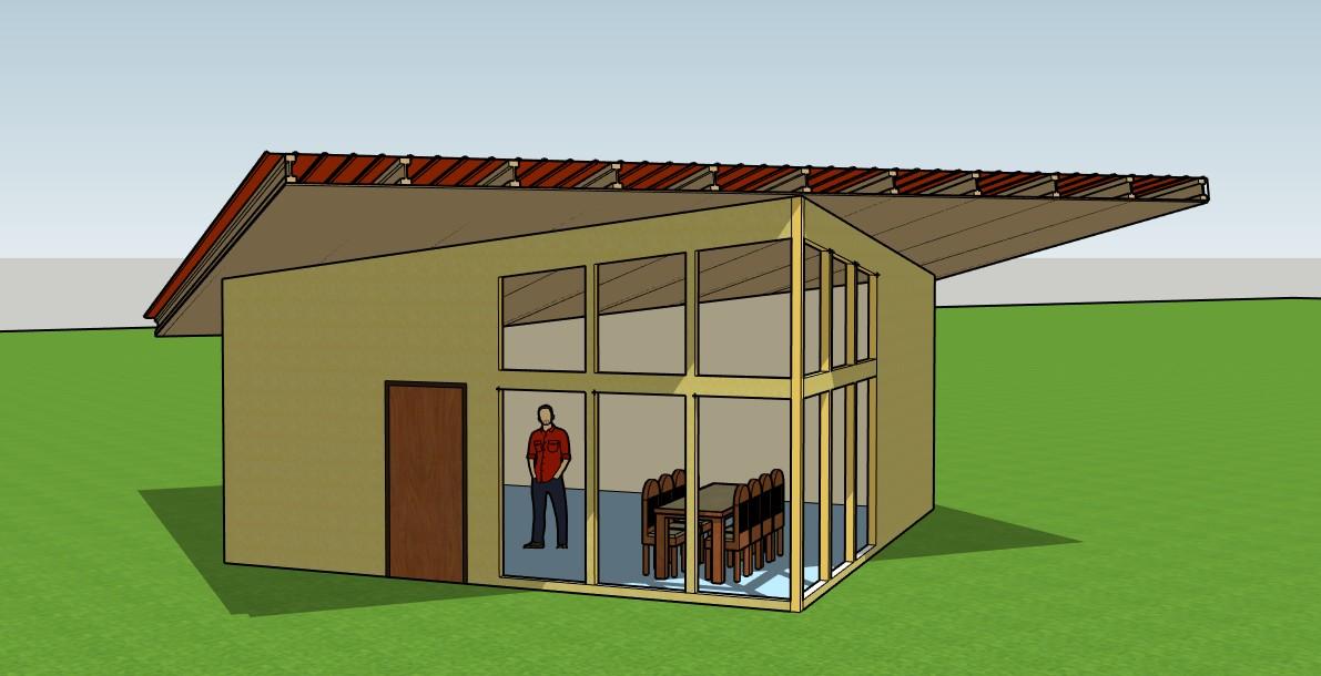 Autoconstruction maison individuelle bac acier isolé