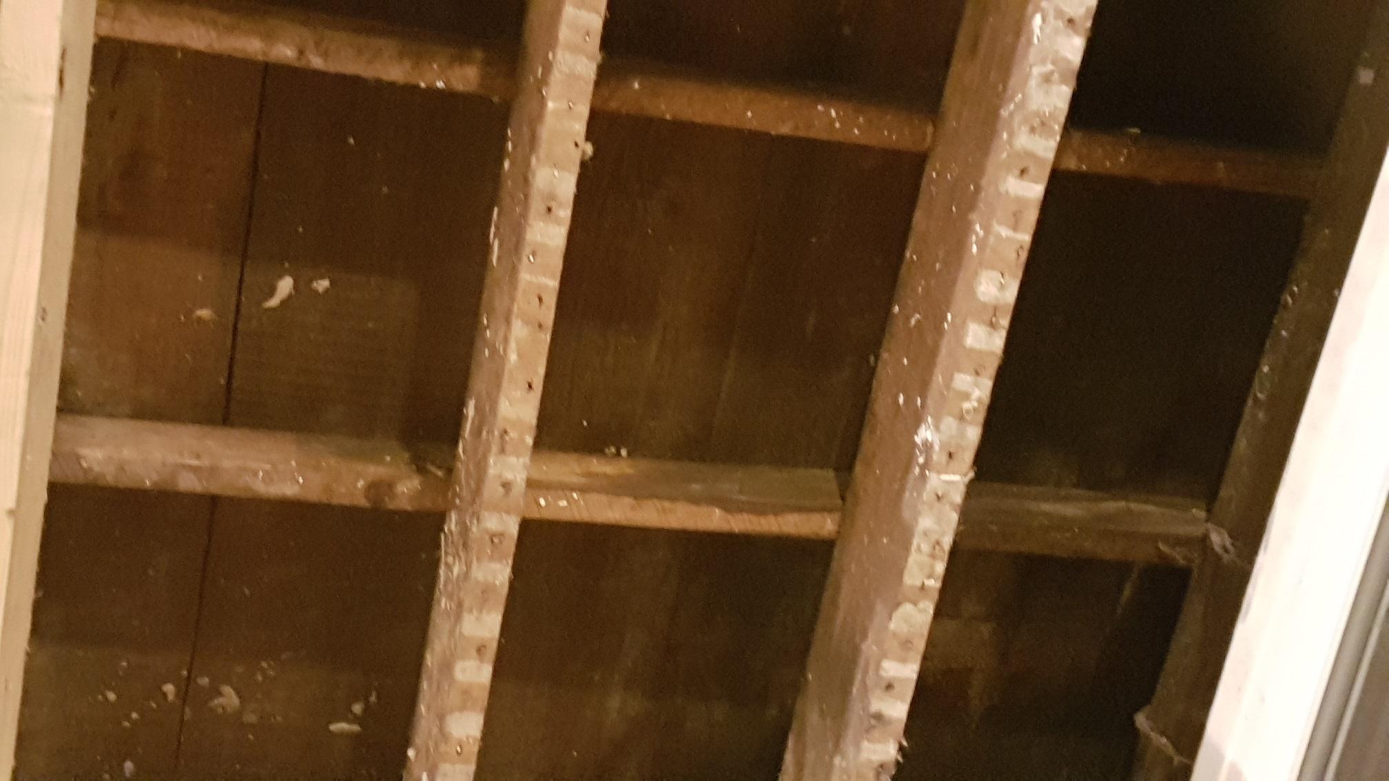 Isolation toit en zinc plat