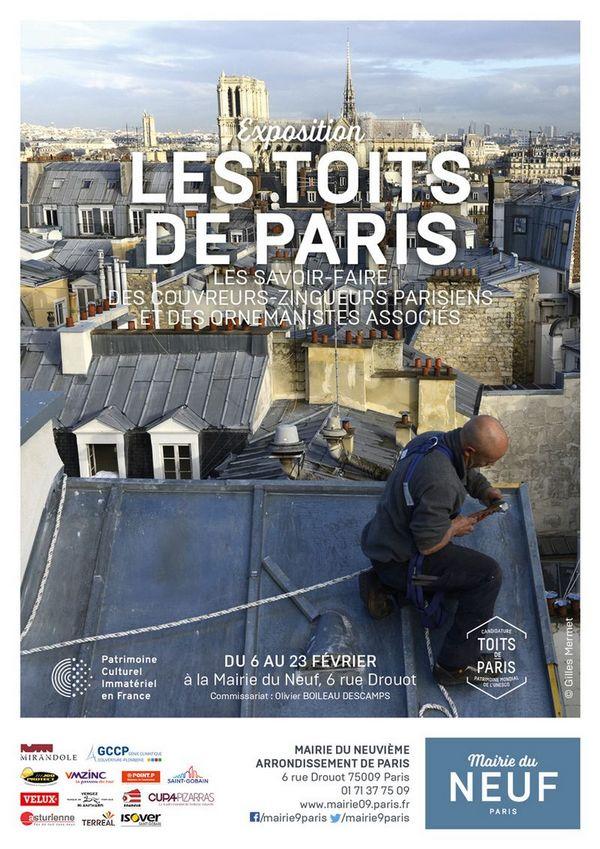 Les couvreurs parisiens bientôt classés à l'UNESCO ?