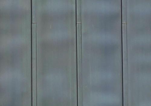 Malfaçons ondulations toiture en zinc sur tasseaux