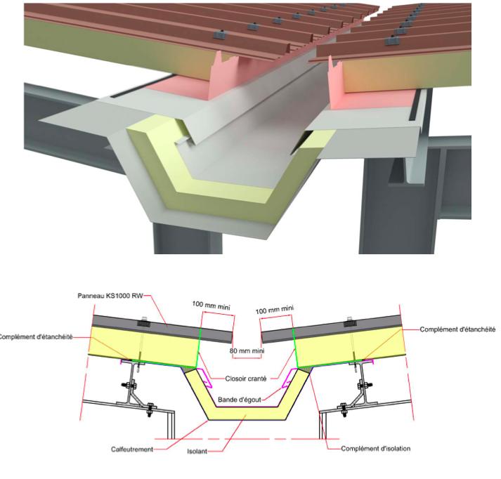 Rénovation toiture bac acier