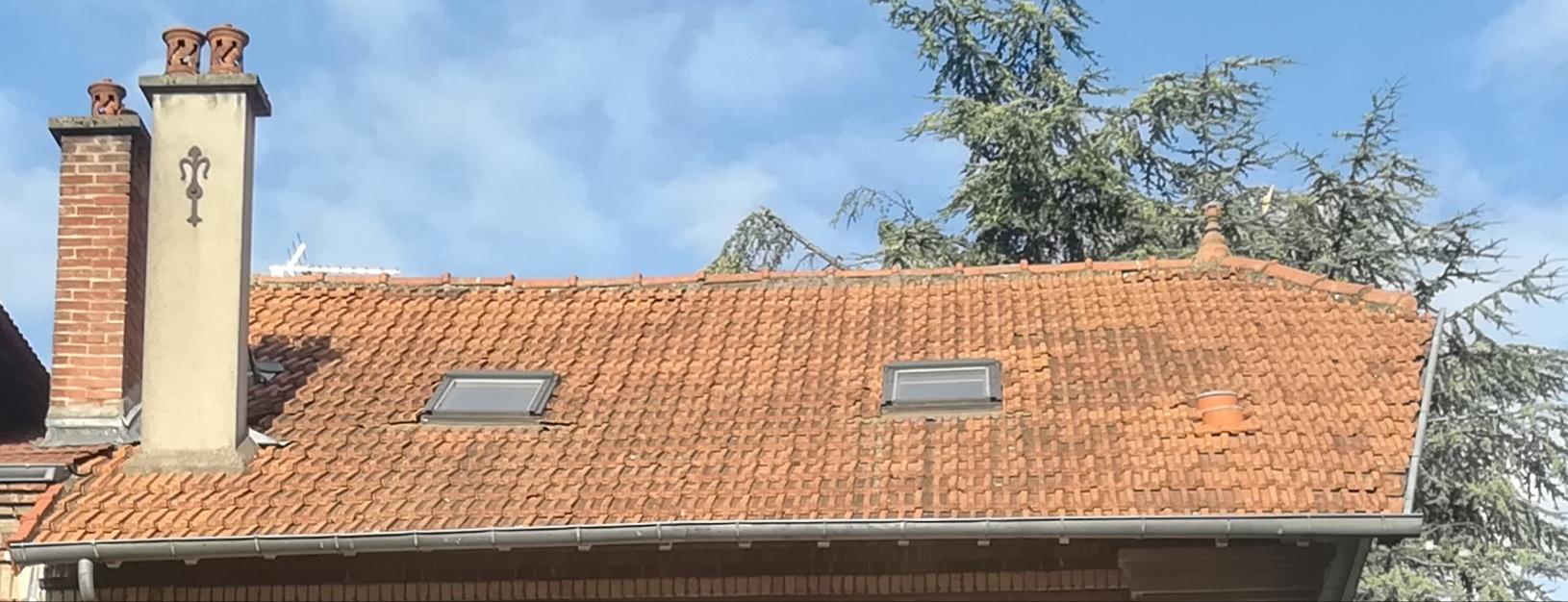 Avis sur une toiture en tuile plate
