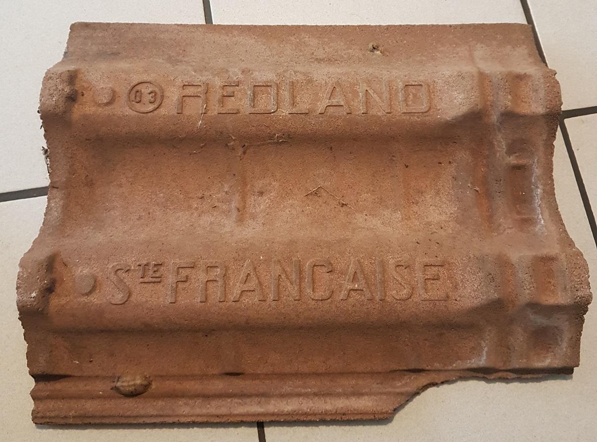 Modèle équivalent tuile béton Redland /Monier