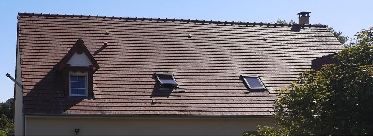 Conseil avant achat d'une maison toit en tuiles