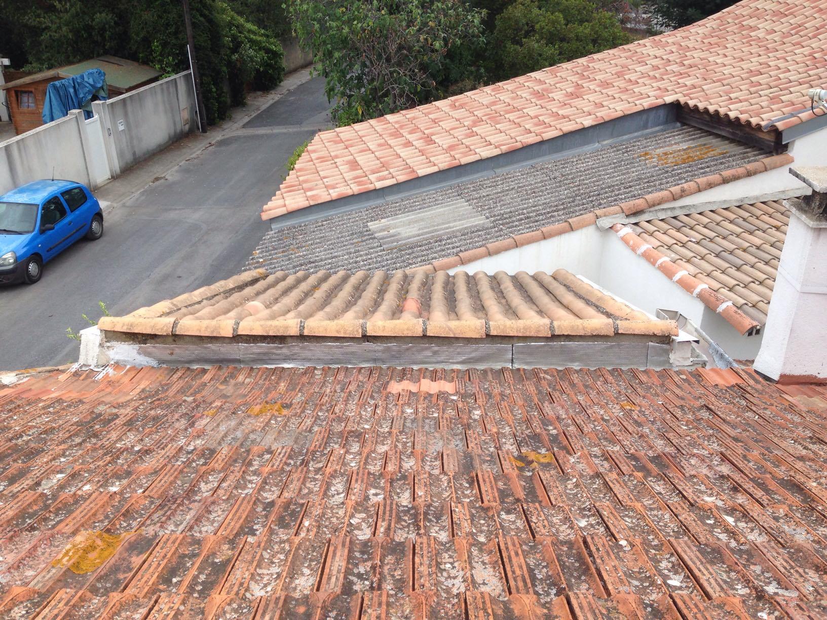 Noue entre 2 toits ?